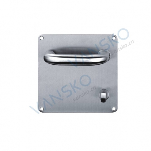 Stainless steel handle with plate HP005