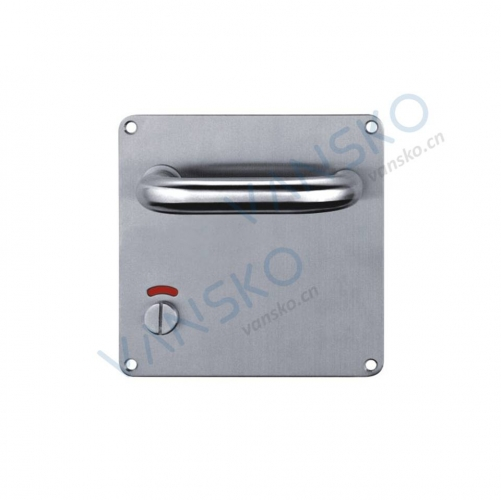 Stainless steel handle with plate HP006