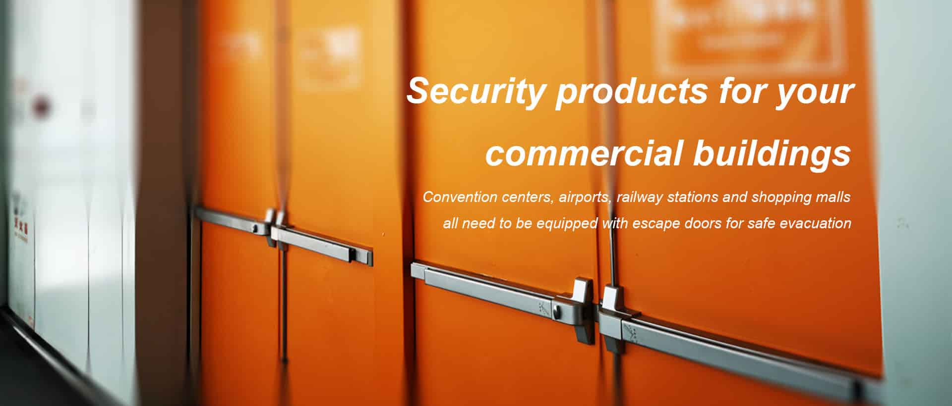 Security products for your commercial buildings