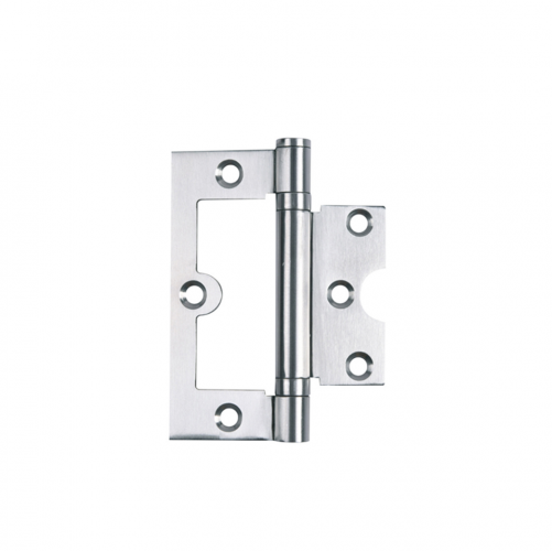 304 Stainless Steel 2BB Bi-fold hinge Coved edge