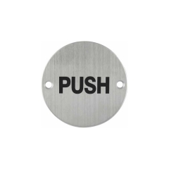 Push&Pull Sign Plate Fire Door Pull Sign Push Sign SP014